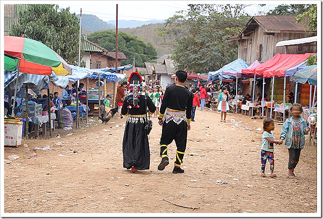 ハーヤオ村(モン族)モン族のお正月