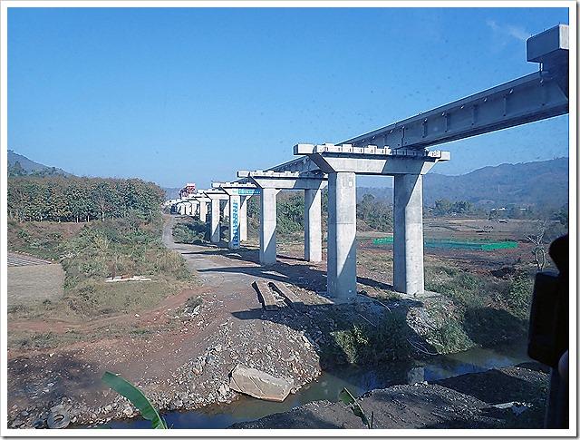 中国が建設中の鉄道