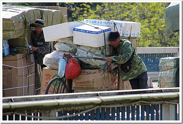 ラオカイの中国国境